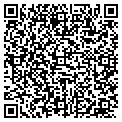 QR code with P & D Flying Service contacts