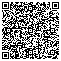 QR code with B & M Body Shop contacts