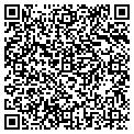 QR code with P & D Monogramming & Embrdry contacts