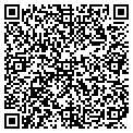 QR code with B & B Check Cashers contacts