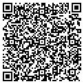 QR code with J & S Service Co contacts