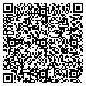 QR code with D & K Poultry Farms contacts