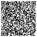 QR code with N & B Variety Store contacts