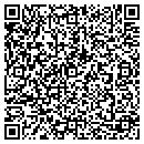 QR code with H & H Directional Boring Inc contacts