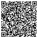 QR code with B & J Refrigeration Service contacts