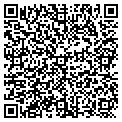 QR code with K & B Trucks & Cars contacts