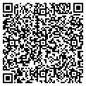 QR code with C & D Auto Sales & Salvage contacts