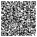 QR code with J & J Janitorial contacts