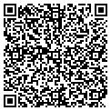 QR code with B & K Check Cashers contacts