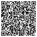 QR code with R & R Tree Service contacts