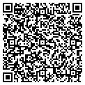 QR code with B & K Auto & Trailer Sales contacts
