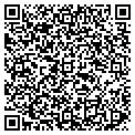 QR code with I & B Janitorial & Maid Service contacts