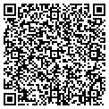 QR code with R & B Machine Shop contacts