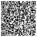 QR code with H & S Appliance contacts