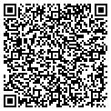 QR code with B & B Plumbing Heating & Air contacts
