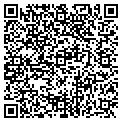 QR code with B & D Used Cars contacts