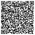 QR code with D & DS Video-Tanning & More contacts