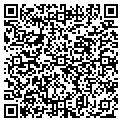 QR code with C & B Auto Sales contacts