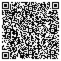 QR code with James A Cerney DDS contacts