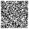 QR code with B & F Repair and Maintenance contacts
