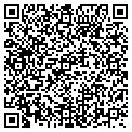 QR code with J & W Siding Co contacts