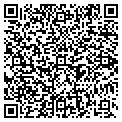 QR code with J & B Sand Co contacts