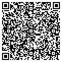 QR code with T & T New & Used Furniture contacts