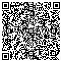 QR code with D & J Country Store contacts