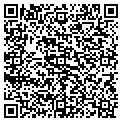 QR code with J M Turner Insurance Agency contacts