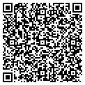 QR code with B K Vacation Rentals contacts
