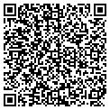 QR code with H & T Cars & Trucks contacts