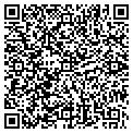 QR code with K & D Storage contacts