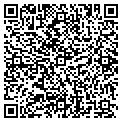 QR code with D & D Storage contacts
