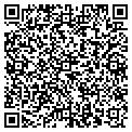 QR code with M & E Auto Sales contacts