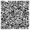QR code with F & B Construction Company contacts