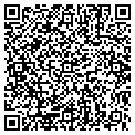 QR code with C & R Roofing contacts