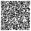QR code with R & R Taxidermy & Outfitters contacts