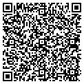 QR code with B & B Siding & Guttering contacts