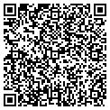 QR code with T & F Mini Storage contacts