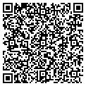 QR code with P & T Farm Inc contacts