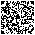 QR code with B & B Resources contacts