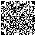 QR code with D & D Mobile Home Service contacts