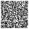 QR code with S & B Lawn Service contacts