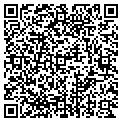 QR code with R & J Warehouse contacts