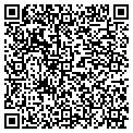 QR code with J & B Aluminum Construction contacts