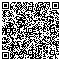 QR code with B & J Realty contacts