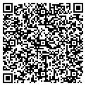 QR code with D & B of Pompano Inc contacts