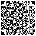 QR code with D & G Tree Farm contacts
