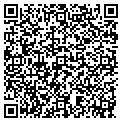 QR code with B & R Color & Supply Inc contacts