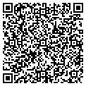 QR code with B & K Auto Sales contacts